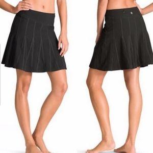 Athleta Wear About Skort Black Skirt Tennis Golf